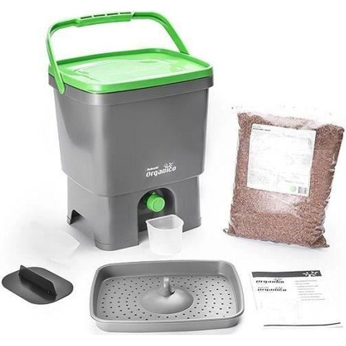 COMPOSTEUR - ACCESSOIRE Composteur Bokashi Organico & activateur