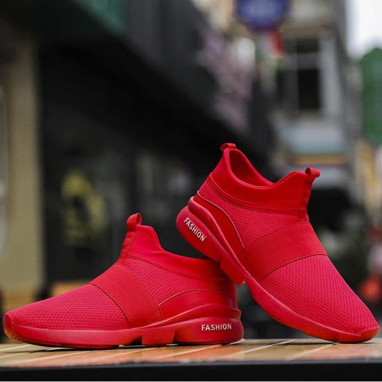 Beathable Mesh Qe1051 Shoes Hommes Occasionnels Chaussures Wild Slip Mode on Sneakers TJculF13K