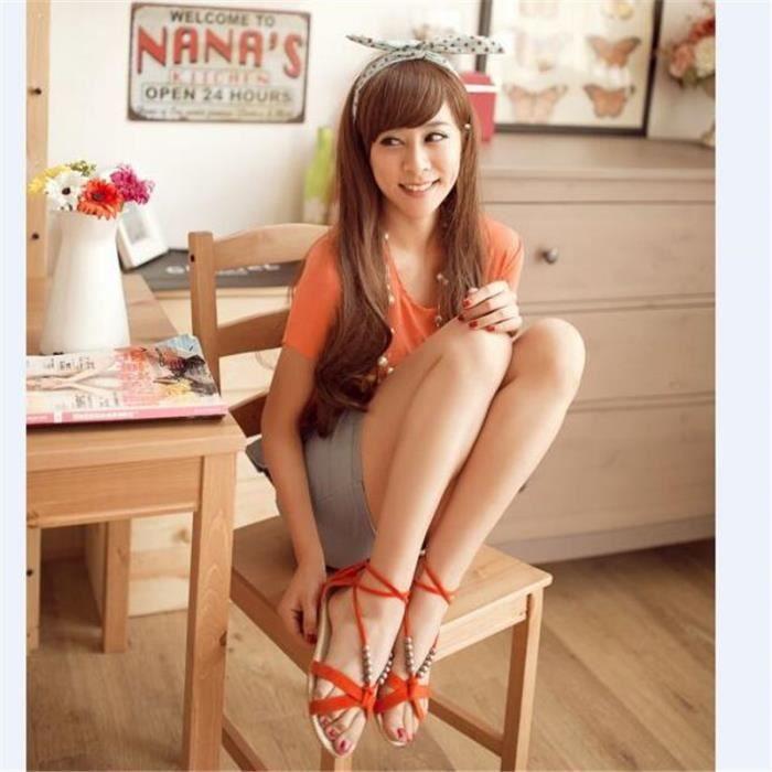 Sandales Femme Haut qualité Nouvelle Mode Marque De Luxe Sandale Femmes Plus De hiver Coton Couleur noir vert Grande Taille 36-40 l1Bzb