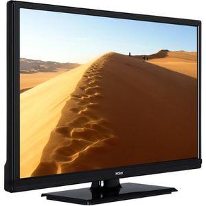 HAIER L24V100 TV LED HD 61 cm (24'') - 2 X HDMI - Classe énergétique A+ - Noir