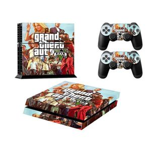 stickers ps4 gta5 achat vente stickers ps4 gta5 pas cher cdiscount. Black Bedroom Furniture Sets. Home Design Ideas