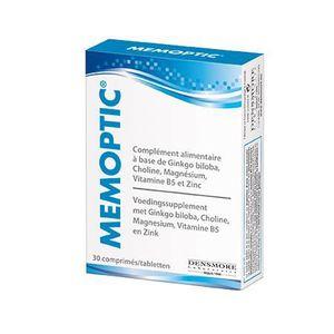 TONUS INTELLECTUEL Memoptic mémoire et vision 30 comprimés