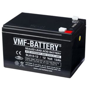 BATTERIE VÉHICULE Batterie Agm Vmf de Veille et Cyclique 12 V 12 Ah