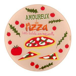 PLAT POUR FOUR Plat à pizza (+ roulette) PATA Amoureux
