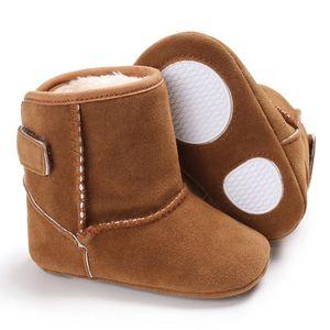BOTTE Bébé fille garçons doux semelle bottes bottes de neige infantile bambin nouveau-né réchauffement chaussures@Bleu 0V00Bwq8