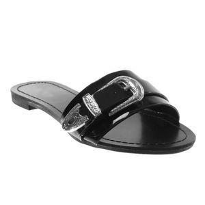 MOCASSIN Angkorly - Chaussure Mode Sandale slip-on femme bo