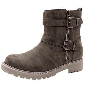 BOTTE Femmes Scrub Retro Keep Warm chaussures à bout ron