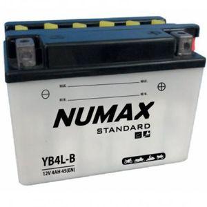BATTERIE VÉHICULE Batterie moto Numax Standard avec pack acide YB4L-