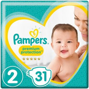 COUCHE PAMPERS New baby Taille 2 3-6 kg 31 couches
