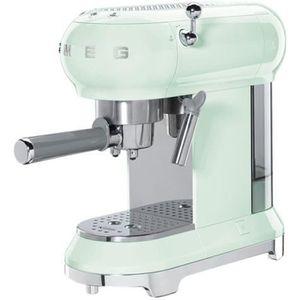 MACHINE À CAFÉ Smeg 50's Style ECF01PGEU Machine à café avec buse