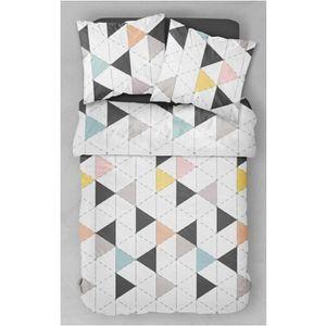 parure de lit nordik 240x220 today achat vente parure de couette soldes d s le 10. Black Bedroom Furniture Sets. Home Design Ideas