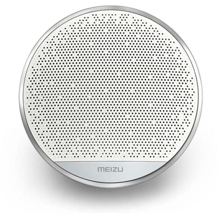 MEIZU Enceinte Bluetooth portable A20 Compacte - Autonomie de 15h - Son 5W - Blanc