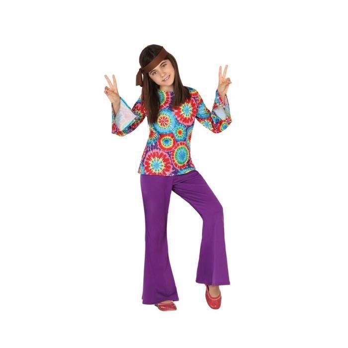 ATOSA Deguisement De Hippie Fille - Panoplie Enfant