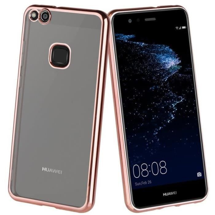 Muvit Life Coque Bling Or Rose pour Huawei P10 Lite