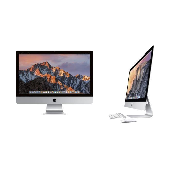 """ORDINATEUR TOUT-EN-UN Apple iMac 21.5"""" Core i5 2.7Ghz -16GB RAM 1TB HD M"""