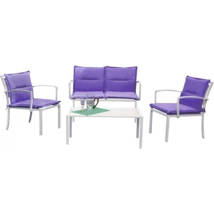 Salon Fauteuils Table • Canapé2 Mobilier Lilas Détente 1 SMUVpqz