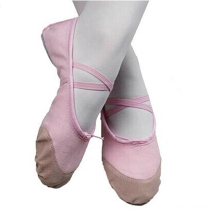 Chausson Danse ballerine chausson de danse chaussures de balle - prix pas cher