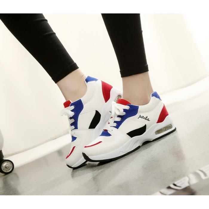 Nouvelle arrivée dame à coussin d'air chaussures de couleur Top qualité élégant femmes hiver chaussures Style coréen chaussures