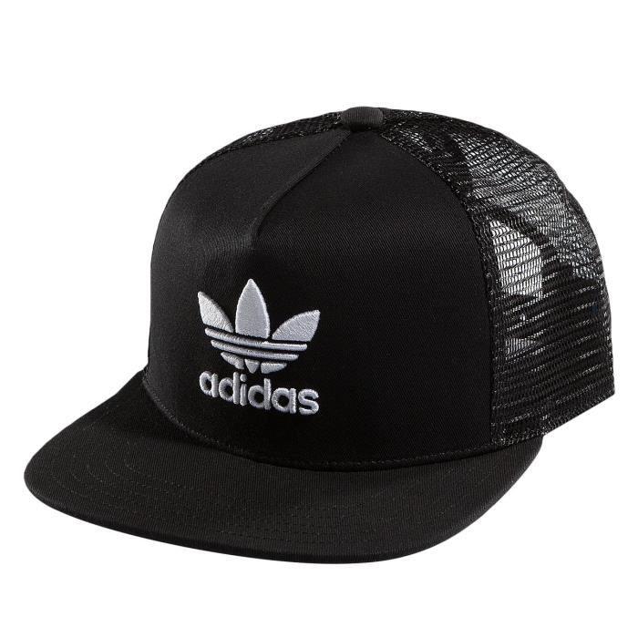 87fab8c2e9 Adidas Homme Casquettes / Trucker Trefoil Noir Noir - Achat / Vente ...