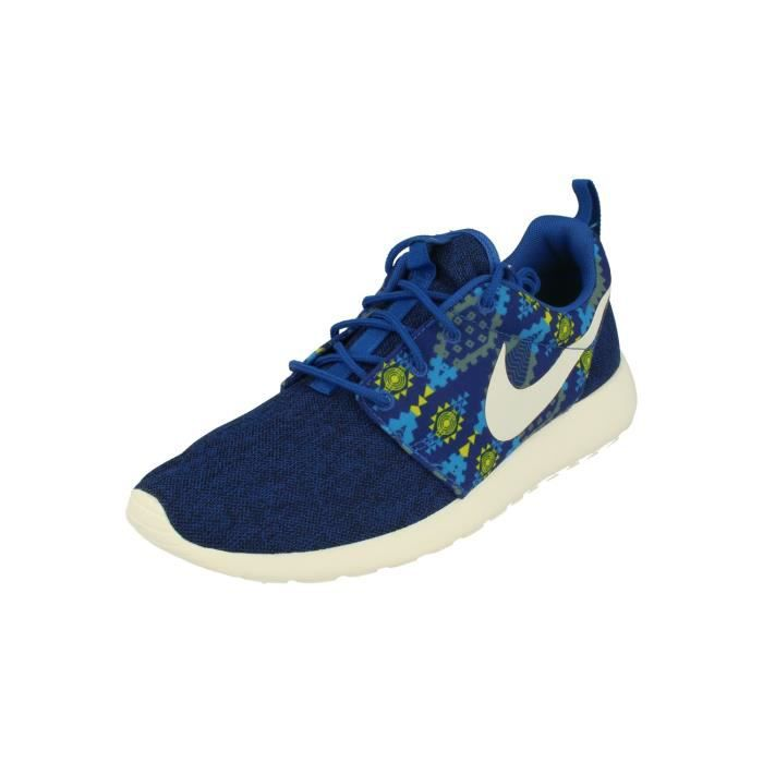 design intemporel 82555 d4b3f Nike Roshe One Print Hommes Trainers 655206 Sneakers Chaussures 410