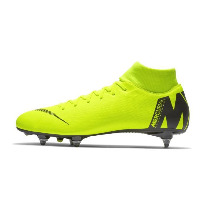 prix d'usine 6383f cb15a Chaussures football Nike Mercurial Superfly Academy VI SG-PRO Jaune