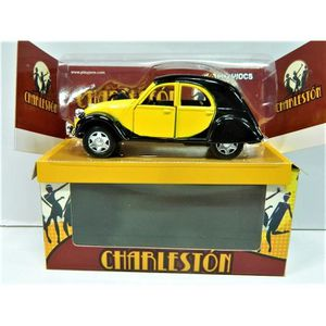 VOITURE - CAMION 2cv Citroën charleston voiture miniature métal jau