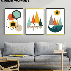 tableau toile paysage montagne achat vente pas cher. Black Bedroom Furniture Sets. Home Design Ideas