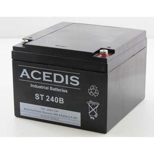 BATTERIE DOMOTIQUE Batterie plomb étanche 12V 28AH - ST240B ACEDIS