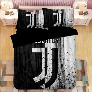 PARURE DE DRAP Juventus F.C. Parure de lit 4 pièces de Marque fan
