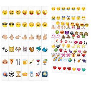 OBJETS LUMINEUX DÉCO  kwmobile Set de 126 emoji - Diapositives emoji cou