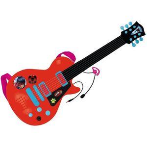 INSTRUMENT DE MUSIQUE MIRACULOUS/LADYBAG Guitare électronique avec micro