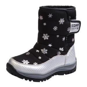 BOTTE Enfants Bottes de neige Bottes hiver Mode Chaussur