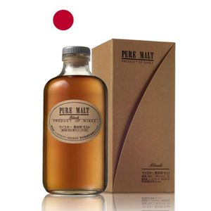 WHISKY BOURBON SCOTCH NIKKA Pure Malt Black