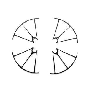PIÈCE DÉTACHÉE DRONE 4 Protections Hélices NOIRE Drone SYMA X5HC / X5HW