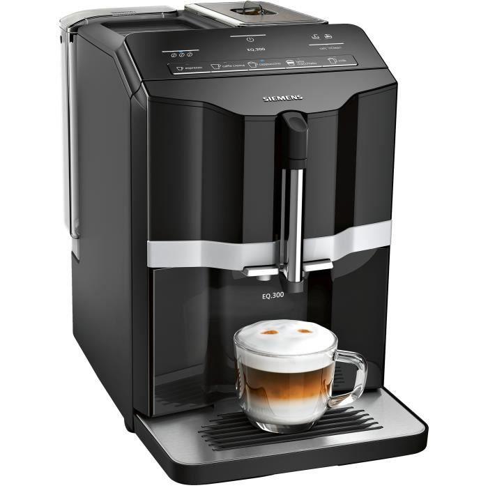 SIEMENS TI351209RW Machine à café expresso entièrement automatique EQ.300 - Noir