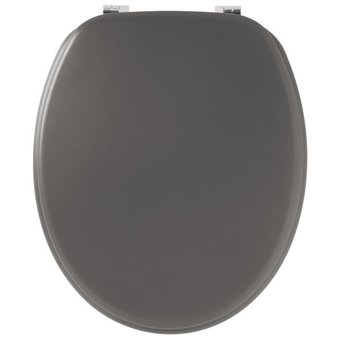 GELCO Abattant WC satin carbone