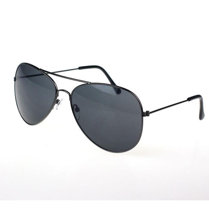 Metal lunettes de soleil Hommes femmes noir designer Classic et UwWqFtqR