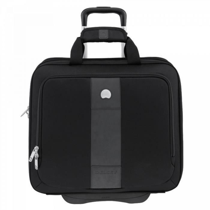 6205b3b9cc VALISE INFORMATIQUE Pilot-case ordinateur 17 pouces - Delsey noir42 cm