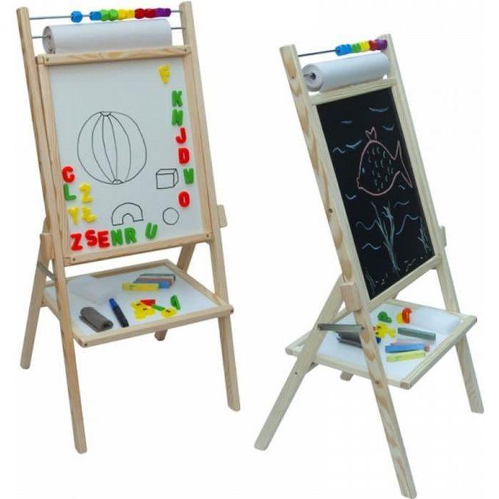 Tableau en bois complet boulier papier aimant enfant - Achat / Vente ...