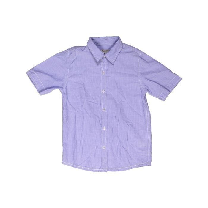 79ddf06c3df94 Chemise manches courtes enfant garçon ZARA 5 ans violet été - vêtement bébé  #963567