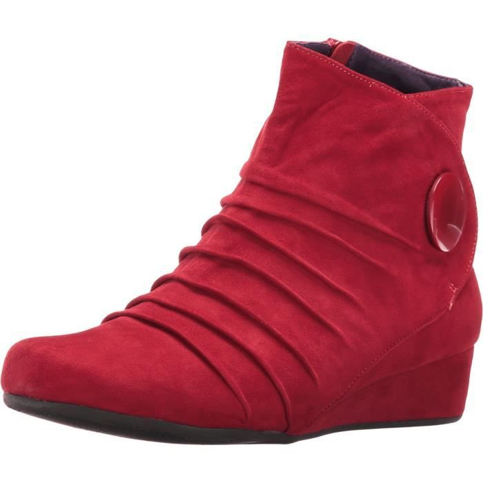 Boots Achat Vc3a1 Taille 39 Mandly Vente Rouge 76ygfYb