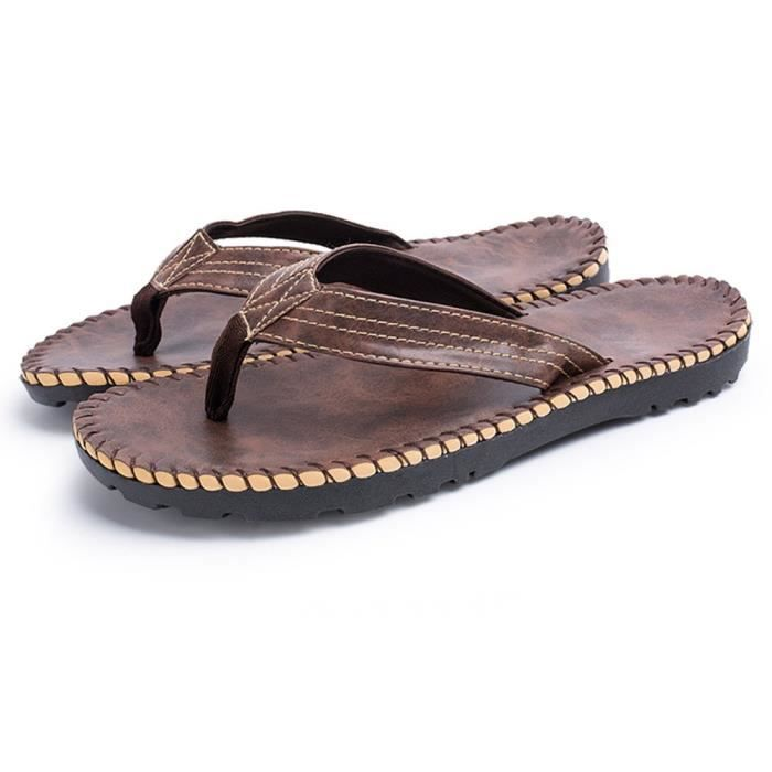 Classical Comfortable 3-point Flip-flop LVQDN Taille-40 1-2