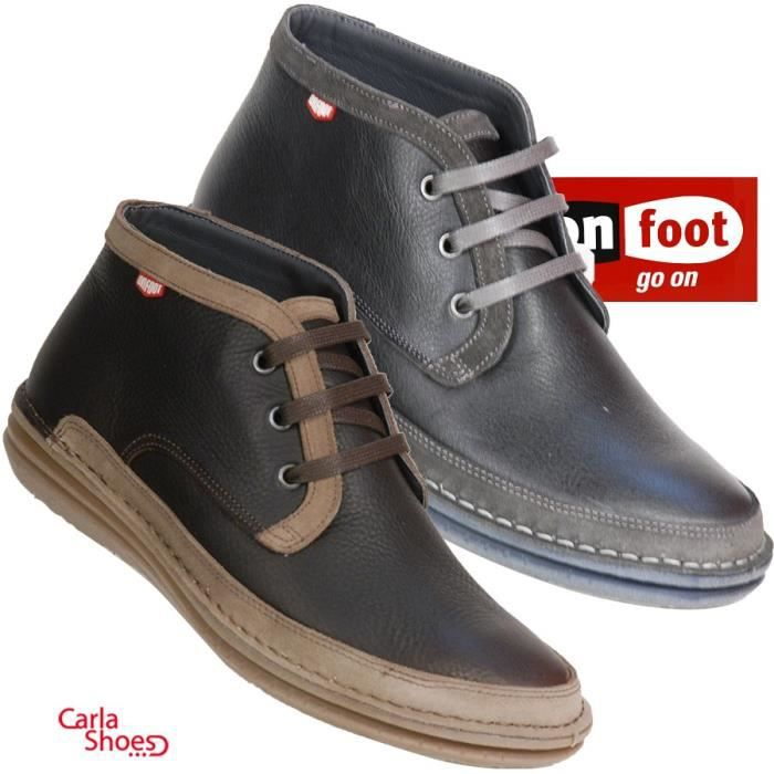 On Foot - 17503 - Boots - Gris
