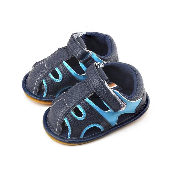 6486a5ac6a69a Chaussures d été pour enfants bout fermé tout-petits garçons ...