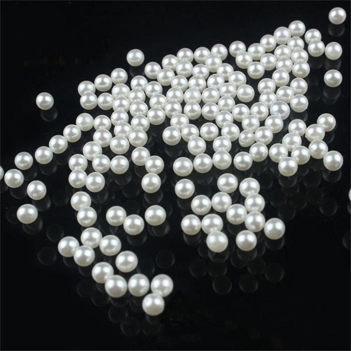 Be You couleur blanche synthétique pierre précieuse perle plaine ligne roundelle 10 lâche 24 pouces volet