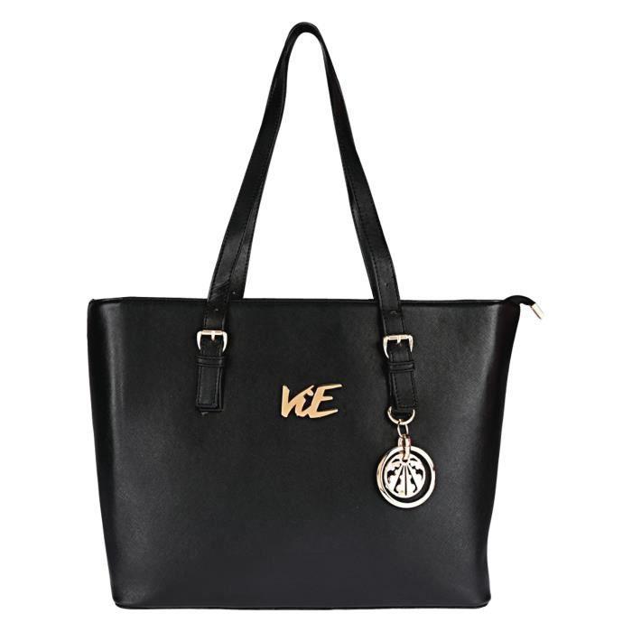 Femmes 3 en 1 sac à main avec embrayage et poche Combo Set (noir) M5E00