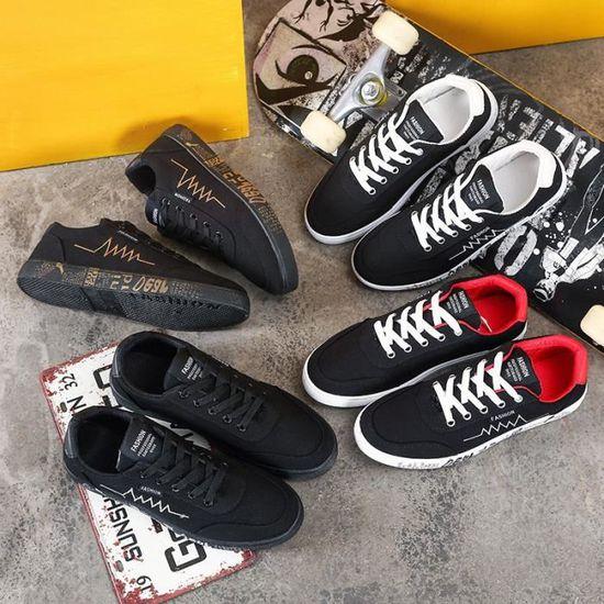 Sneakers Hommes Classique Confortable Chaussure WL de sport Durable Antidérapant WL Chaussure Noir Noir - Achat / Vente basket b73422