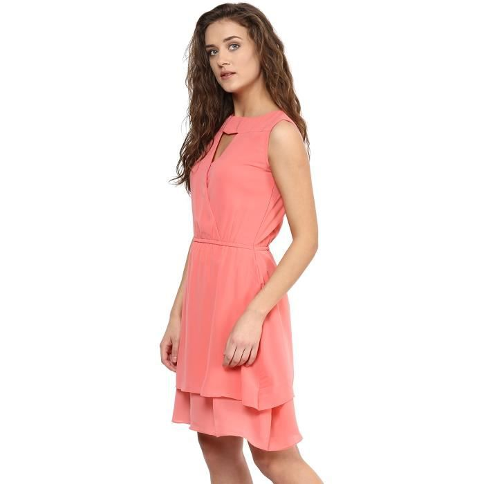 Womens Crepe Cut-out Dress C1V7V Taille-36