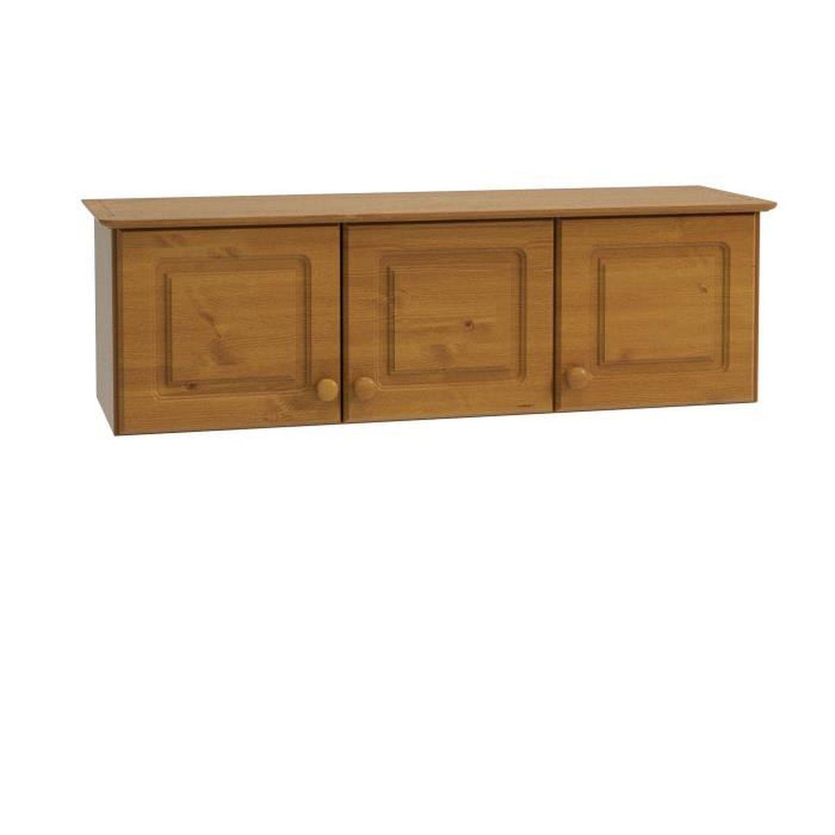 Armoire de chambre en bois massif - Achat / Vente pas cher
