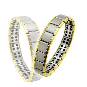 BRACELET - GOURMETTE Bracelet magnétique Pour Santé Titanium